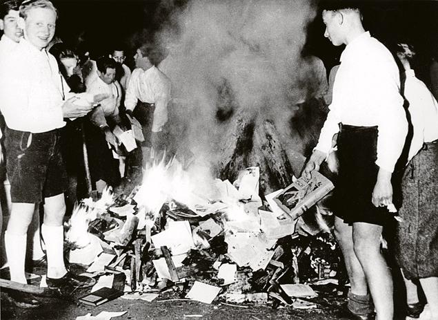 Hitler Youth Book Burning